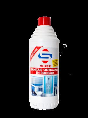 Super Sanitair Ontkalker en Reiniger 1L_8717154782011